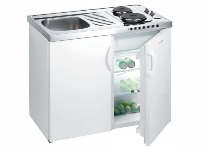 Miniküche Kühlschrank Links : Gorenje mk s l miniküche spüle links cm pantry küche