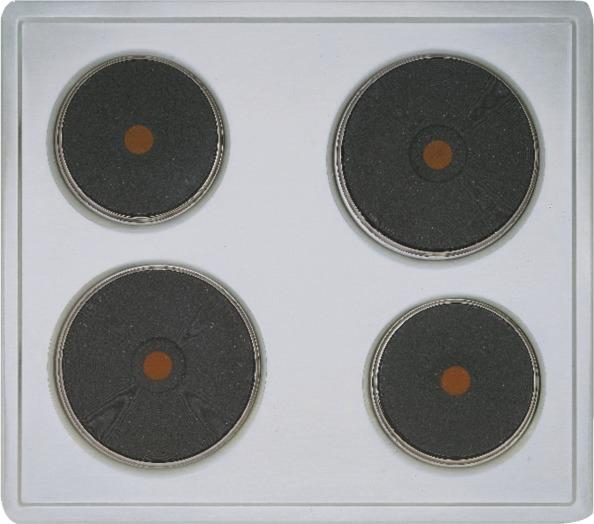 Siemens EA125501 Massekochplatten-Herdmulde 60 cm Kochfeld, Gußkochplatten