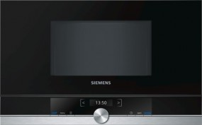 Siemens Einbaumikrowelle BF634LGS1 Edelstahl