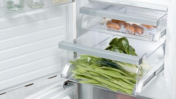 Siemens Kühlschrank Vitafresh : Siemens ki fp einbau kühl gefrier kombination vitafresh