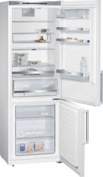 Siemens KG49EBW40 Türen weiß, Seitenwände weiß Kühl-Gefrier-Kombination IQ500