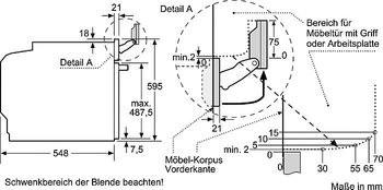 neff bvt5664n einbaubackofen mit variosteam und slide hide neff einbau dampfgarer einbau. Black Bedroom Furniture Sets. Home Design Ideas