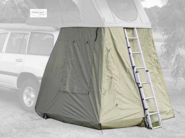 Prime Tech ® Vorzelt zum Autodachzelt Wasteland grün, 140x120x200cm