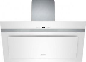 Siemens LC98KD272 Weiß Weiß mit Glasschirm 90 cm Wand-Esse