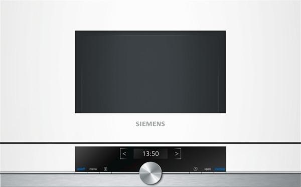 Siemens Einbaumikrowelle BF634LGW1 weiß