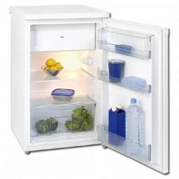 Exquisit KS 16A Inox; Kühlschrank mit Gefrierfach