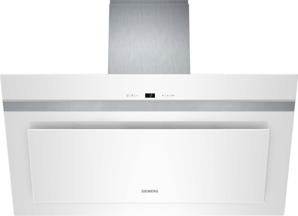 Siemens lc98kd272 weiß weiß mit glasschirm 90 cm wand esse