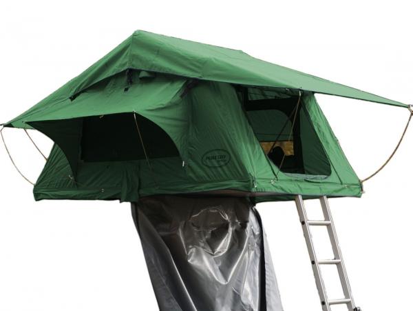 Prime Tech ® Autodachzelt Wasteland XXL, grün - 240x180x130cm
