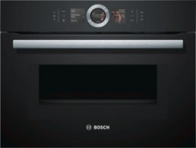 Bosch CMG676BB1 Kompackt-Einbaubackofen mit Mikrowelle