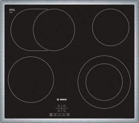 Bosch PKN645D17 Edelstahl umlaufender Rahmen Elektro-Kochstelle