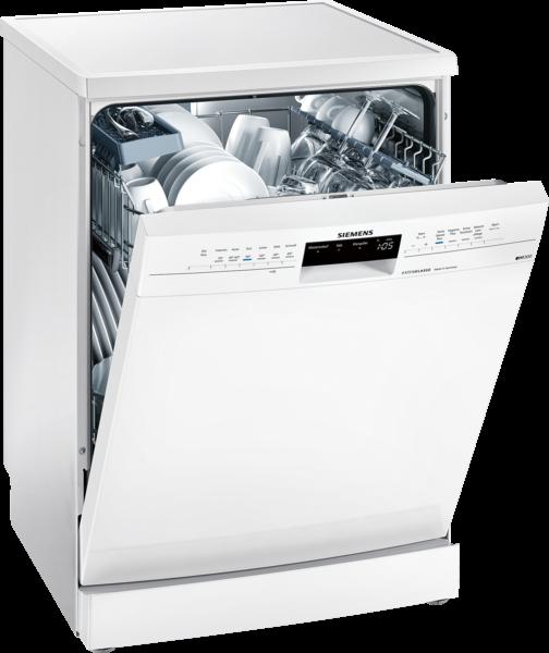 SIEMENS SN236W01ID Extraklasser iQ300, Freistehender Geschirrspüler, 60 cm, weiß