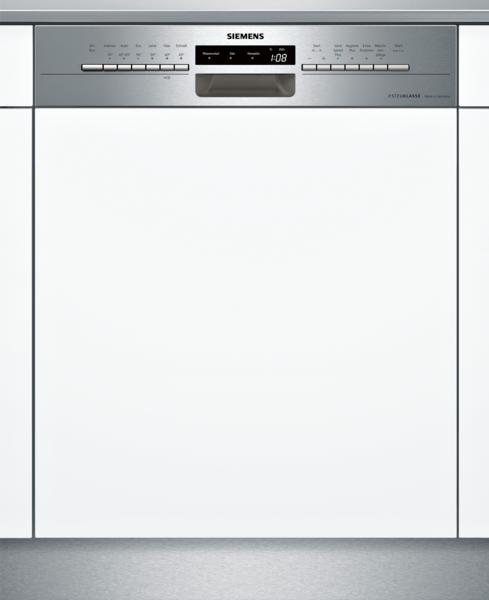 SIEMENS SN536S00ID Extraklasse iQ300, Teilintegrierter Geschirrspüler, 60 cm, Edelstahl