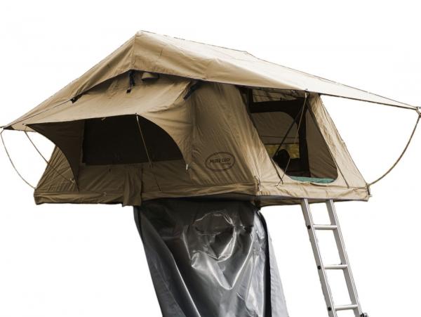 Prime Tech ® Autodachzelt Wasteland XXL, beige - 240x180x130cm