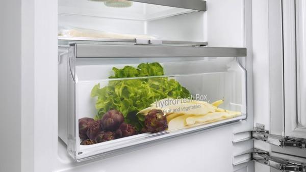 Kühlschrank Gefrierschrank Kombination : Siemens ki nad einbau kühl gefrier kombination nofrost