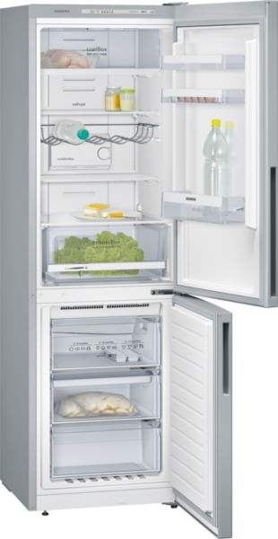 Siemens KG36NVL31 Kühl-Gefrier-Kombination, noFrost Türen Edelstahl-Look IQ300