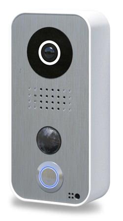 Frontblende F101 für DoorBird IP Video Türstation D10x Serie, Edelstahl Edition