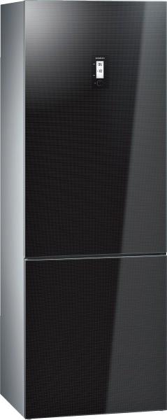 siemens kg49nsb31 k hl gefrier kombination nofrost glast ren schwarz iq700 kombinationen. Black Bedroom Furniture Sets. Home Design Ideas