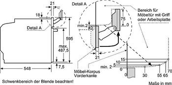 neff bvt4664n einbaubackofen mit variosteam und slide hide neff einbau dampfgarer einbau. Black Bedroom Furniture Sets. Home Design Ideas