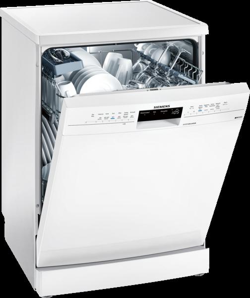 SIEMENS SN236W00GD Extraklasse iQ300, Freistehender Geschirrspüler, 60 cm, weiß