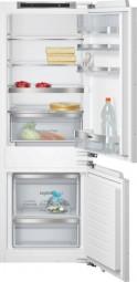 Siemens KI77SAD30 Einbau-Kühl-Gefrier-Kombination Flachscharnier-Technik, softEinzug mit Türdä