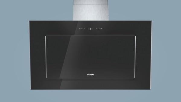 Siemens lc98ka671 schwarz schwarz mit glasschirm 90 cm wand esse