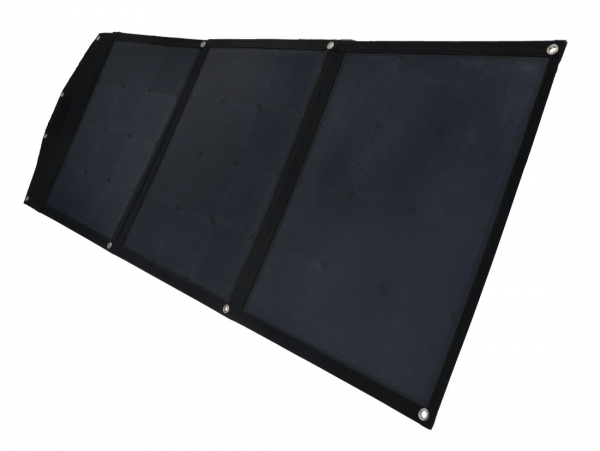 Prime Tech ® mobiles Solar-Panel faltbar 120WP MPPT-Regler für Lithium-Akkus