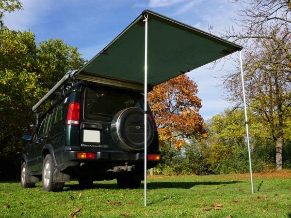 Prime Tech ® Fahrzeug-Markise 150x200x210cm grün auch für Dachzelte