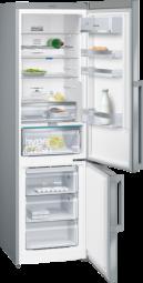 SIEMENS KG39NEI4P Extraklasse iQ500, Freistehende Kühl-Gefrier-Kombination mit Gefrierbereich unten,