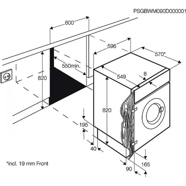 aeg l61470bi 7 kg lc display startzeitvorwahl aqua. Black Bedroom Furniture Sets. Home Design Ideas