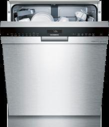 SIEMENS SN458S01PD Extraklasse iQ500, Unterbau-Geschirrspüler, 60 cm, Edelstahl