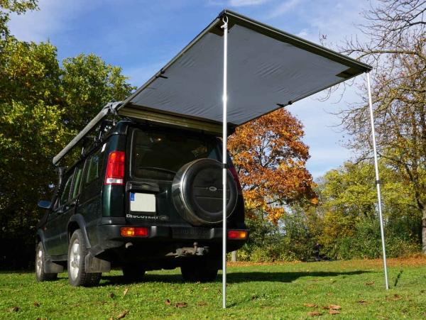 Prime Tech ® Fahrzeug-Markise 150x200x210cm grau auch für Dachzelte