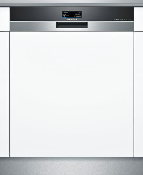 SIEMENS SN578S16TD Extraklasse iQ700, Teilintegrierter Geschirrspüler, 60 cm, Edelstahl