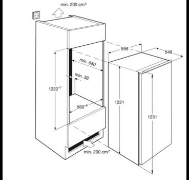aeg sks91200f1 energieeffizienzklasse a 123er nische integrierbar led innenbeleuchtung mit. Black Bedroom Furniture Sets. Home Design Ideas