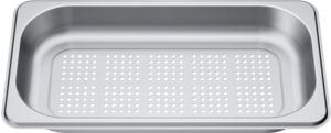 Bosch HEZ36D163G, GN-Behälter, gelocht