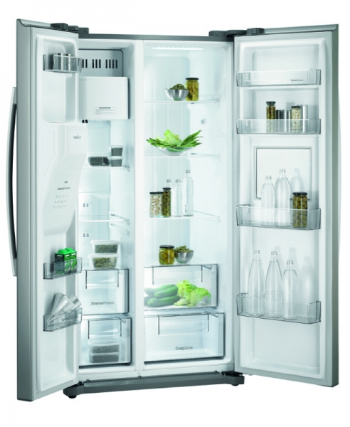 Gorenje NRS 9182 CXB Side by Side; No Frost, Finger Touch free