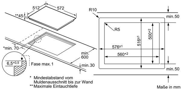 siemens ef601hn17 60 cm kochfeld glaskeramik siemens einbau kochfelder kochfelder einbau. Black Bedroom Furniture Sets. Home Design Ideas