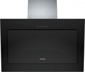 Siemens LC86KA670 Schwarz Schwarz mit Glasschirm 80 cm Wand-Esse