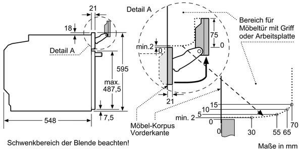Neff Bvs5522n Mk Einbau Backofen Edelstahl B55vs22n0k