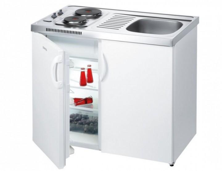 Miniküche Mit Kühlschrank Bauknecht : Gorenje mk s r miniküche spüle rechts pantry küche