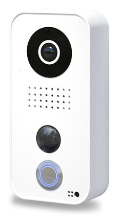 DoorBird IP Video Türstation D101, Polycarbonate Gehäuse, White Edition