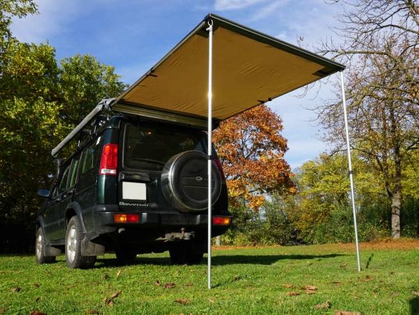 Prime Tech ® Fahrzeug-Markise 150x200x210cm beige auch für Dachzelte