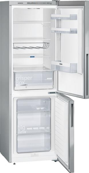 Siemens KG36VVI32 Kühl-Gefrier-Kombination Türen Edelstahl antiFingerPrint IQ300