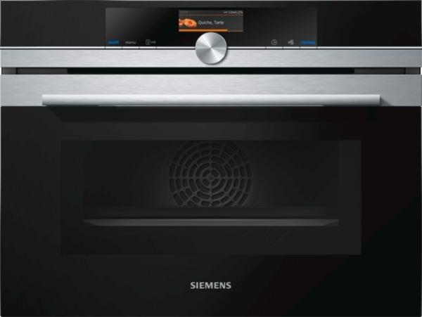 Siemens CM636GNS1, Einbau-Kompaktbackofen mit Mikrowellenfunktion