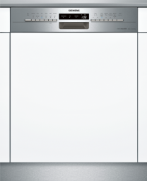 SIEMENS SN536S00PD Extraklasse iQ300, Teilintegrierter Geschirrspüler, 60 cm, Edelstahl