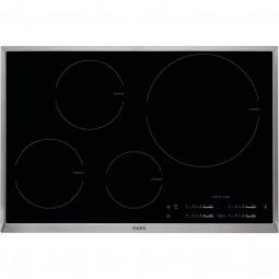 AEG HK8542H0XB 80 cm, 4-fach Induktion mit Direct-Control, Hob²Hood-Funktion, STOP & GO-Funktion, Op