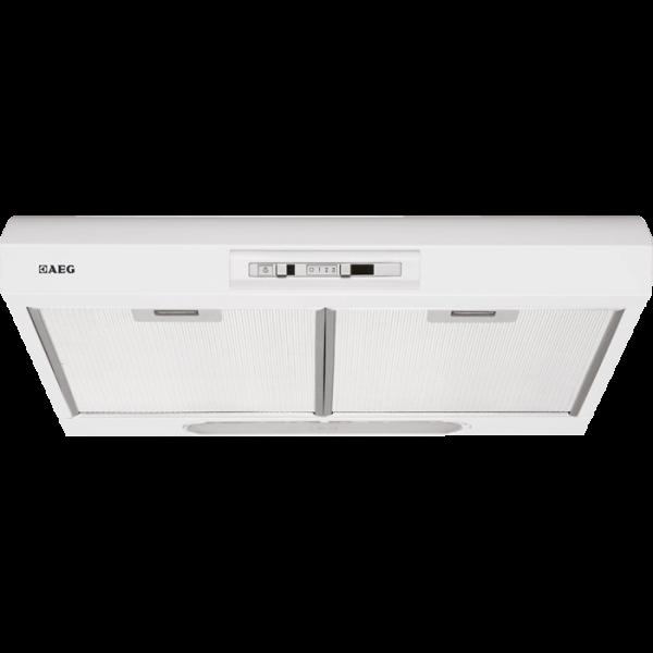 aeg du4161 w unterbauhaube 60 cm schiebeschalter metall fettfilter halogenbeleuchtung. Black Bedroom Furniture Sets. Home Design Ideas